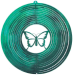 Metal Spinner - Butterfly
