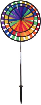 Triple Pinwheel, Rainbow