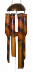 Fern Bamboo Windchime, large