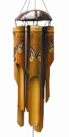 Monarch Butterfly Bamboo Chime