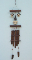Funny Face Bamboo Chime
