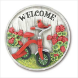 Wall Plaque/Garden Stone - Welcome